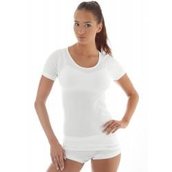 Koszulka damska z krótkim rękawem COMFORT WOOL