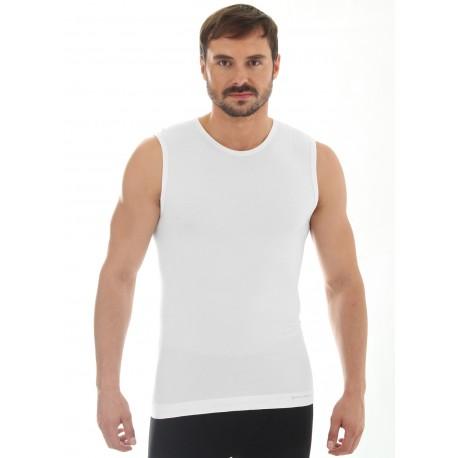 Koszulka męska bez rękawów COMFORT WOOL