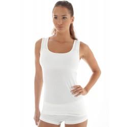 Koszulka damska bez rękawów COMFORT WOOL